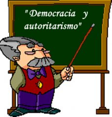 Democracia y autoritarismo evolución al modernismo